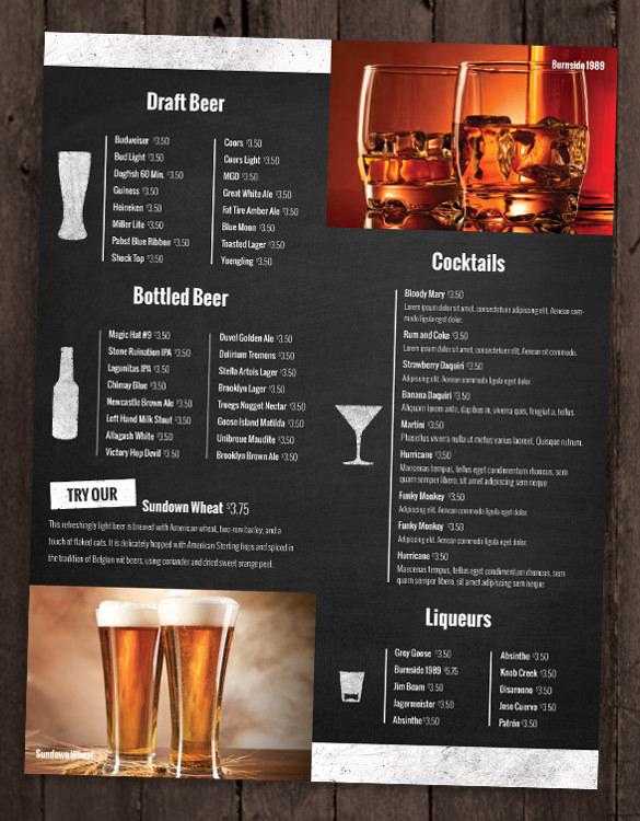 Drink-Menu-Template-Sample